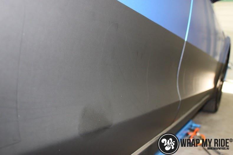 Tesla model S p85D Satin Perfect Bleu two-tone, Carwrapping door Wrapmyride.nu Foto-nr:7994, ©2020