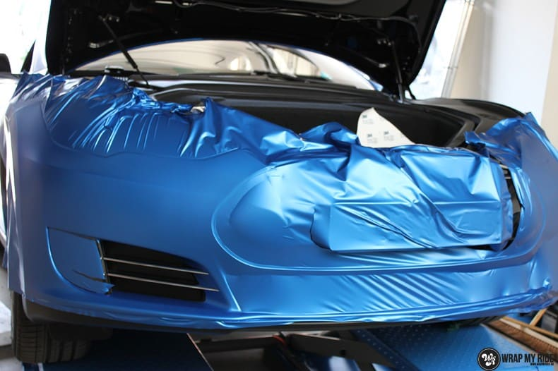 Tesla Model S P90D, Carwrapping door Wrapmyride.nu Foto-nr:10092, ©2020