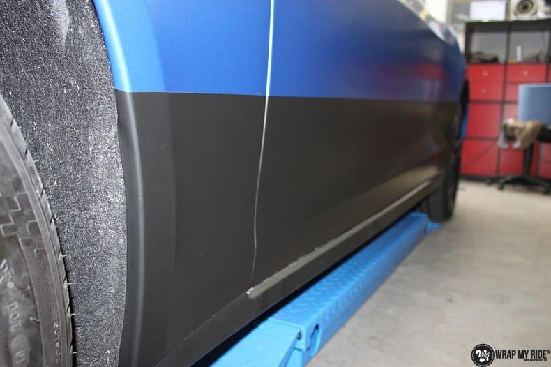 Tesla Model S P90D, Carwrapping door Wrapmyride.nu Foto-nr:10085, ©2021