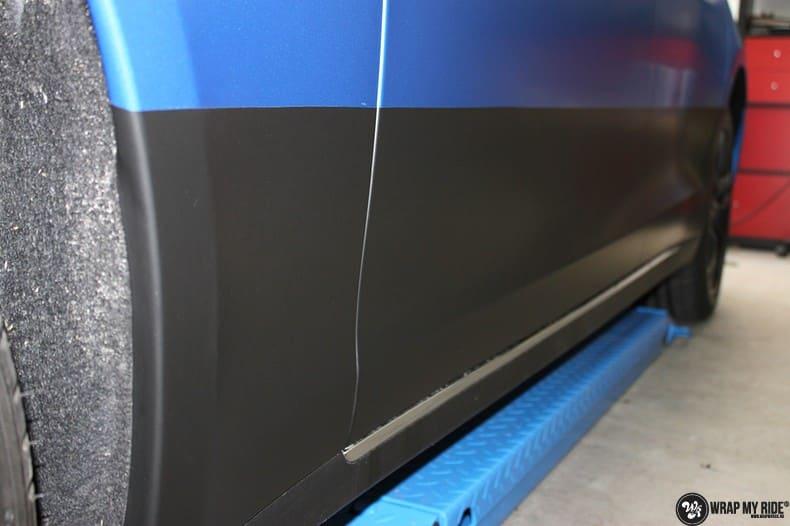 Tesla Model S P90D, Carwrapping door Wrapmyride.nu Foto-nr:10084, ©2020
