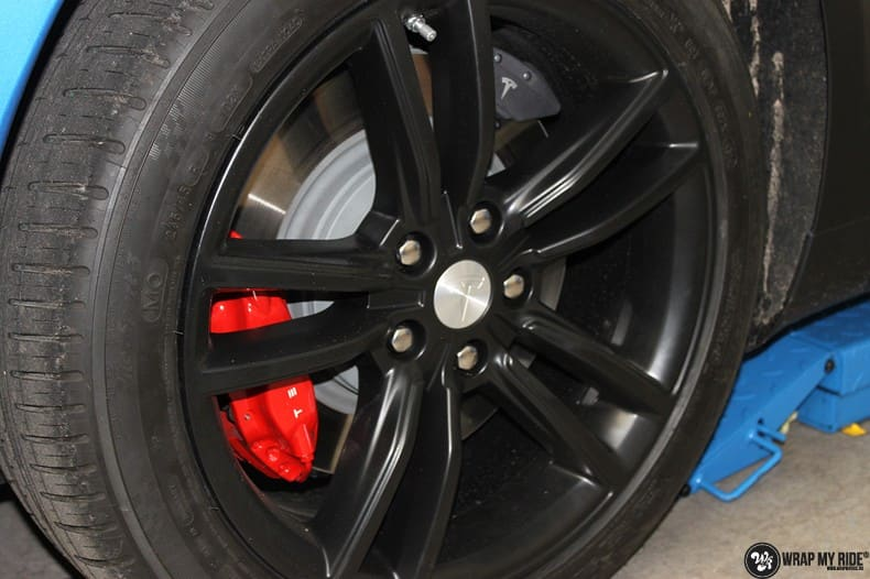Tesla Model S P90D, Carwrapping door Wrapmyride.nu Foto-nr:10079, ©2021