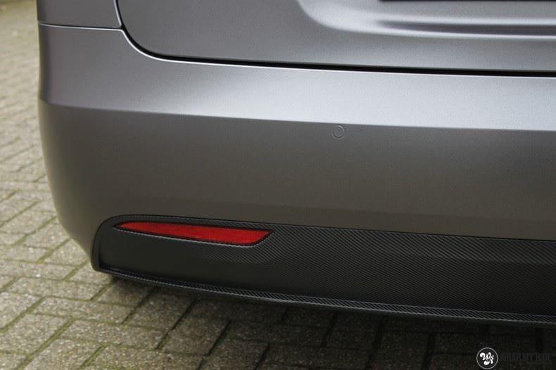 Tesla Model S Satin Dark Grey, Carwrapping door Wrapmyride.nu Foto-nr:9585, ©2018