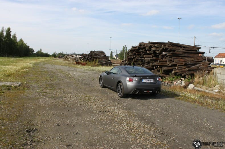 Toyota GT86, Carwrapping door Wrapmyride.nu Foto-nr:10219, ©2021