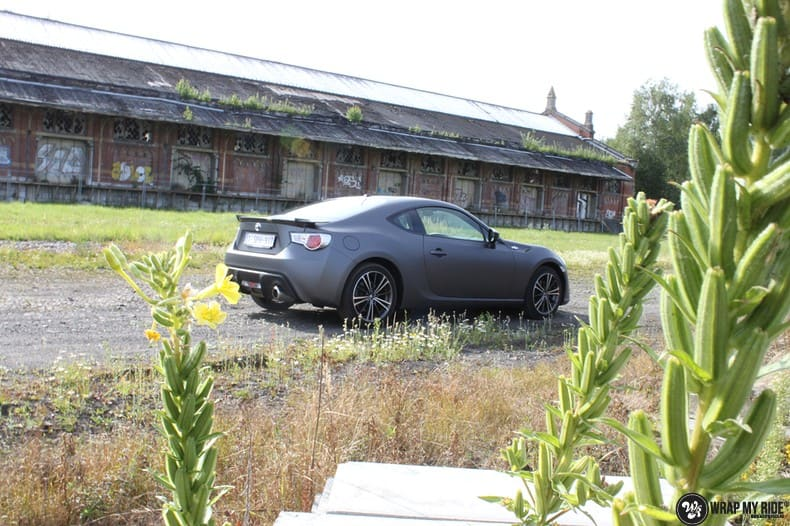 Toyota GT86, Carwrapping door Wrapmyride.nu Foto-nr:10217, ©2020