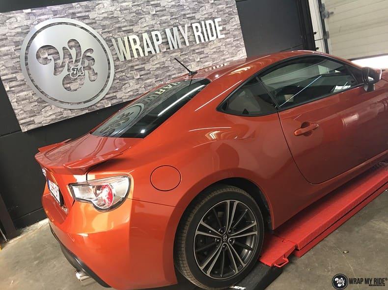 Toyota GT86, Carwrapping door Wrapmyride.nu Foto-nr:10237, ©2018