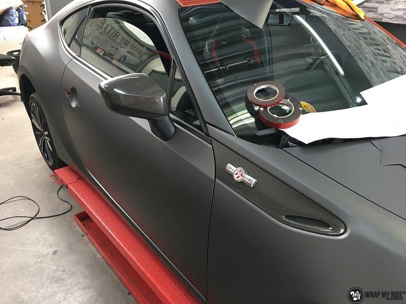 Toyota GT86, Carwrapping door Wrapmyride.nu Foto-nr:10230, ©2020