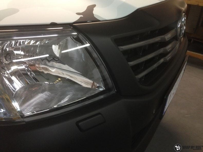 Toyota Hillux camo print, Carwrapping door Wrapmyride.nu Foto-nr:8496, ©2020