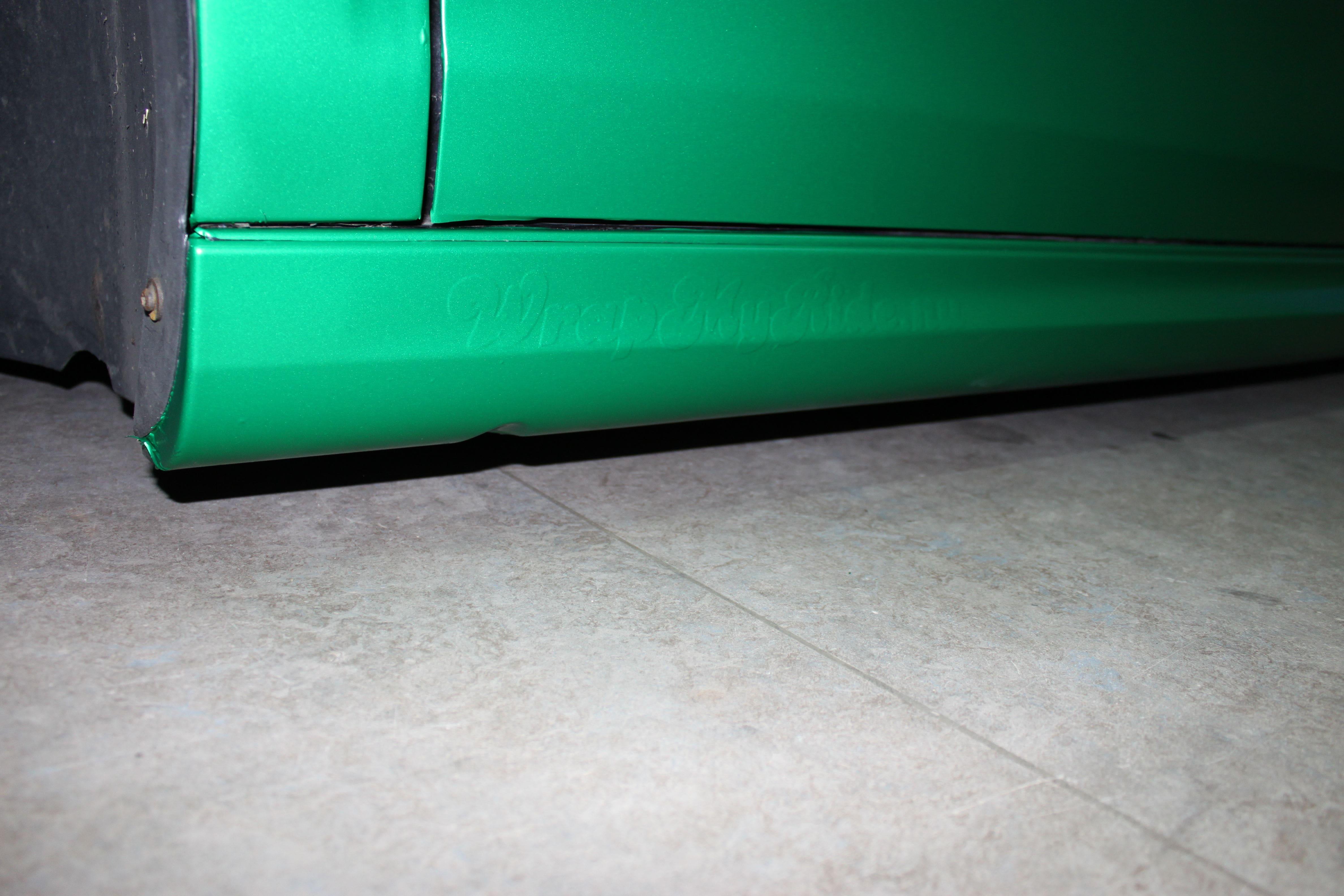 Volkswagen Golf in Satin Sheer Luck Wrap in het Groen, Carwrapping door Wrapmyride.nu Foto-nr:7007, ©2021