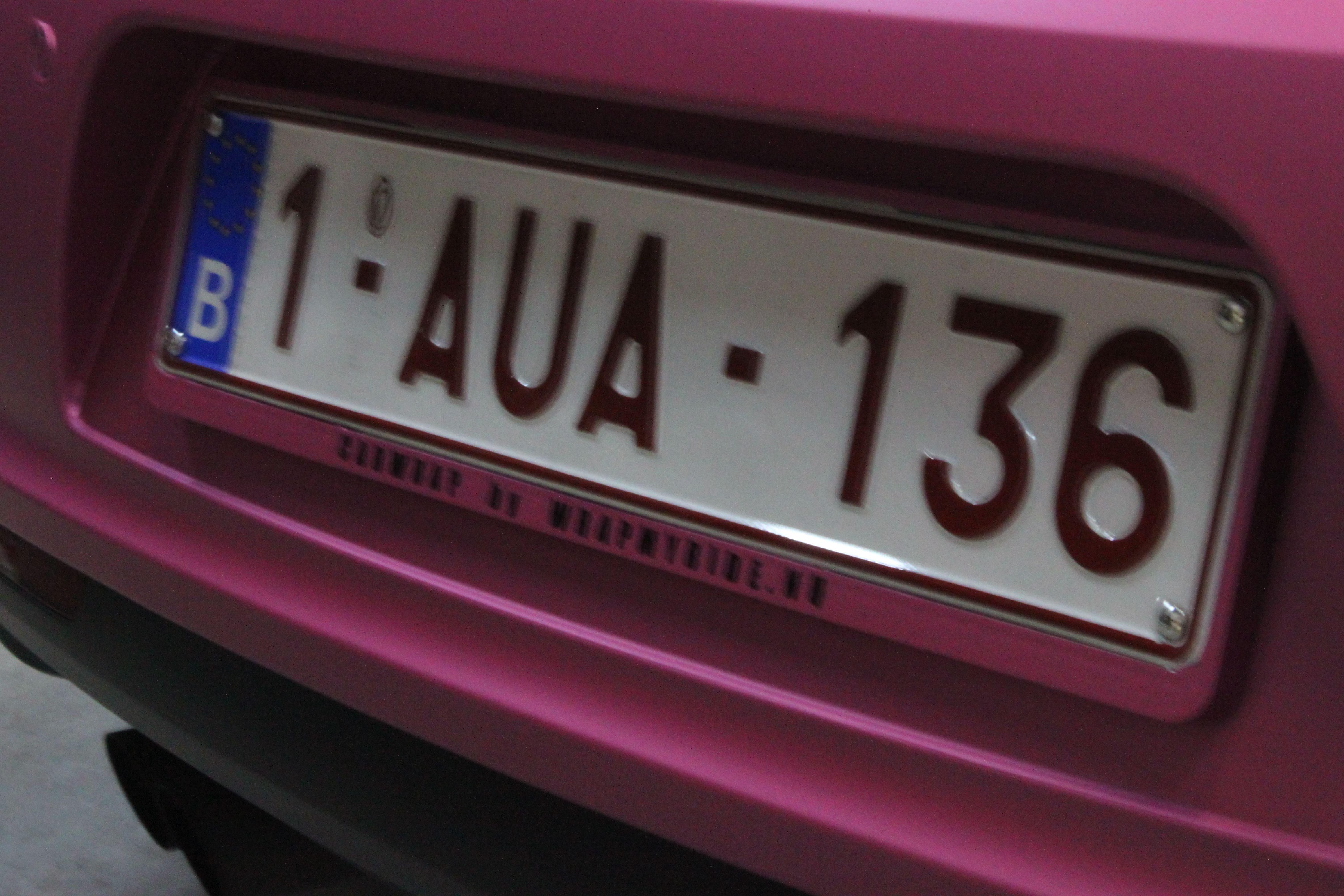 Volkswagen Scirocco met Mat Metallic Roze Warp, Carwrapping door Wrapmyride.nu Foto-nr:6985, ©2021