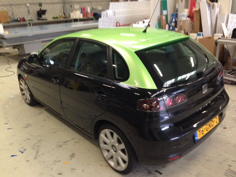 Volkswagen Touareg met Mat Oranje Wrap, Carwrapping door Wrapmyride.nu Foto-nr:7380, ©2020