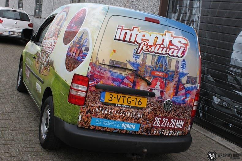 VW Caddy Intents Festival, Carwrapping door Wrapmyride.nu Foto-nr:9861, ©2020
