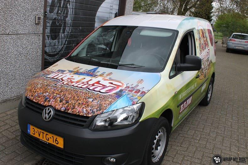 VW Caddy Intents Festival, Carwrapping door Wrapmyride.nu Foto-nr:9858, ©2020