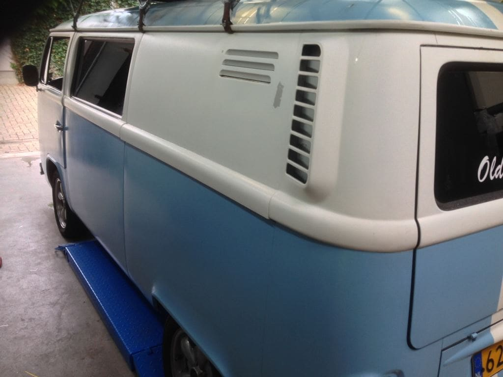 VW T2 mat black guitar hero, Carwrapping door Wrapmyride.nu Foto-nr:8035, ©2021