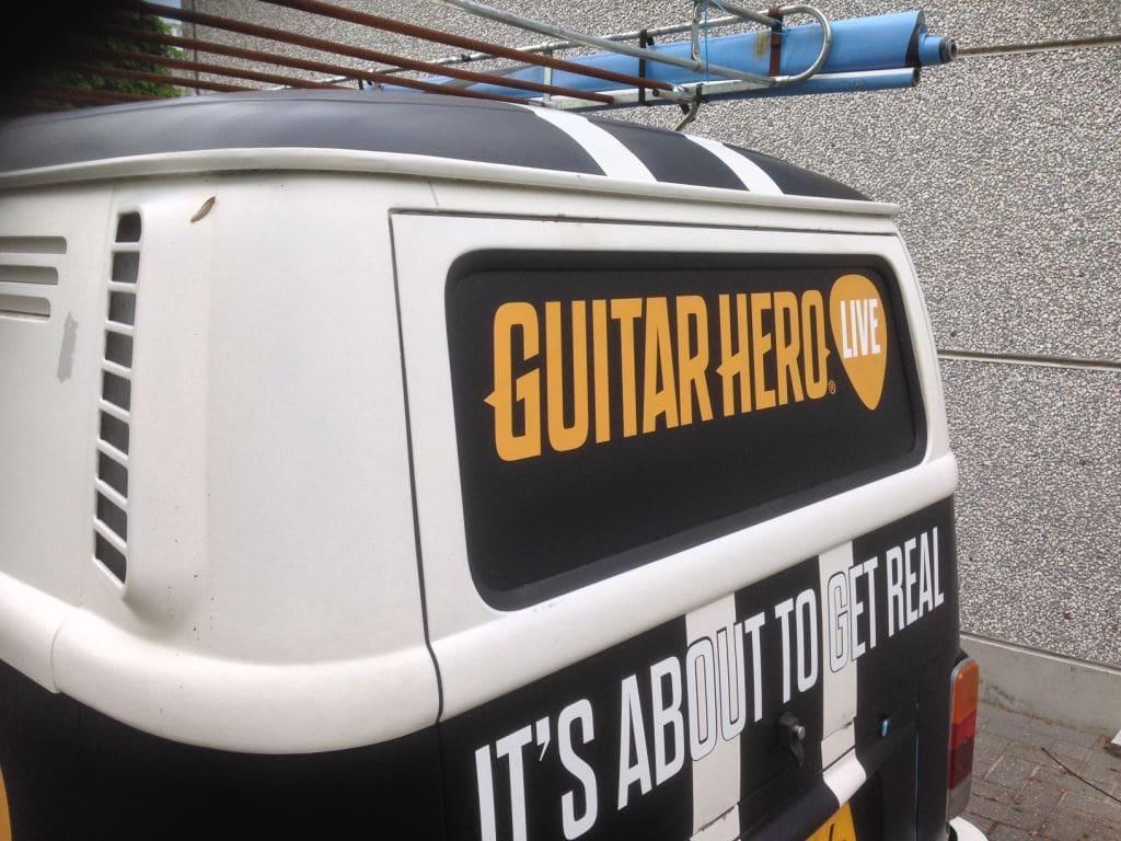 VW T2 mat black guitar hero, Carwrapping door Wrapmyride.nu Foto-nr:8044, ©2020