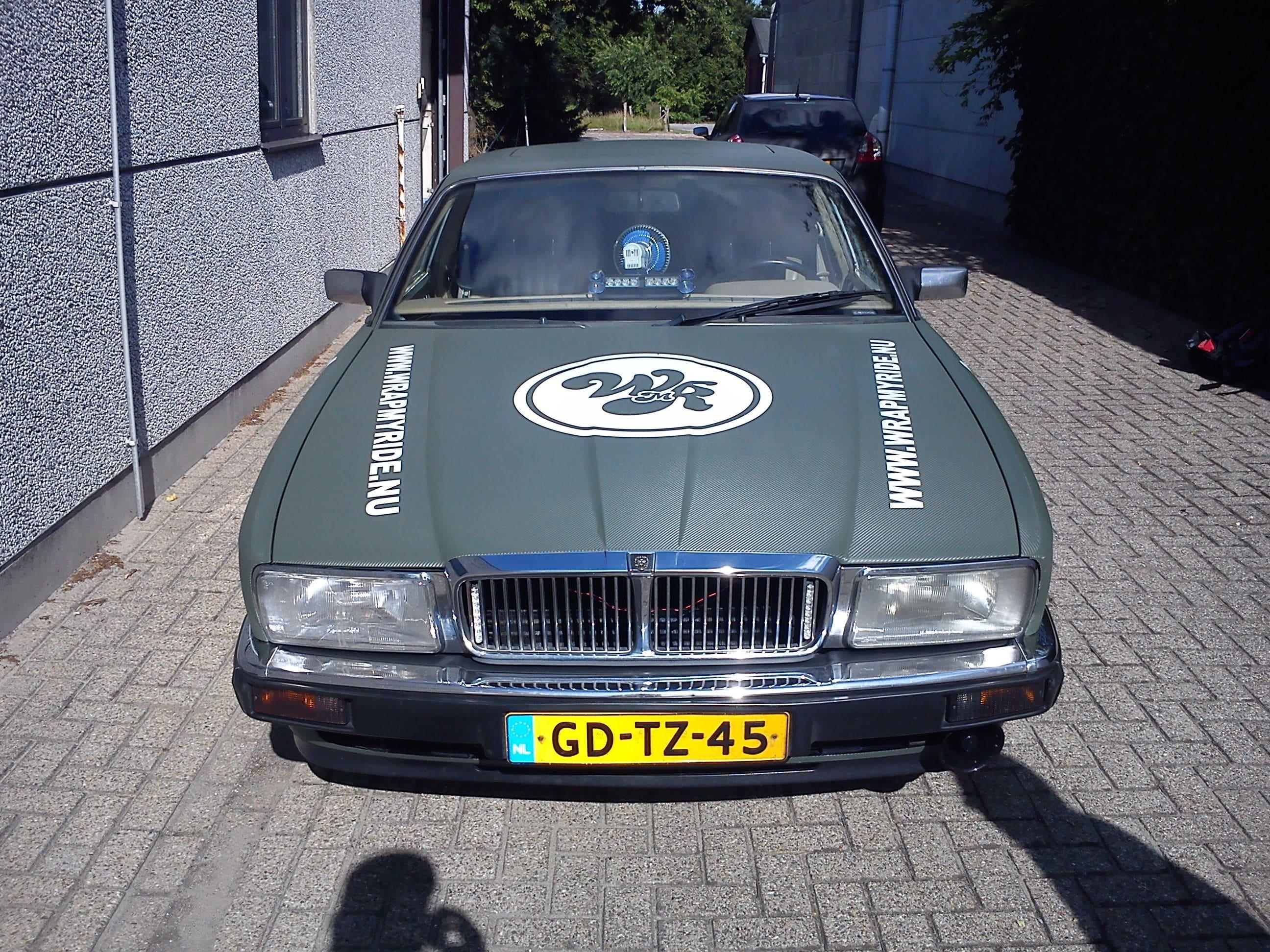 Wrap My Ride Jaguar Gewrapt voor de Garbagerun, Carwrapping door Wrapmyride.nu Foto-nr:5897, ©2020